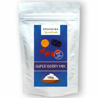 Bio, nyers Super Berry Mix 150g